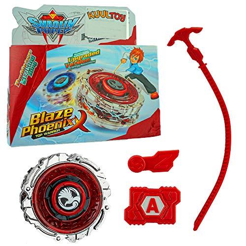 Kuultoy Beyblade Burst - Trottola da combattimento, set da 1 per bambini, regalo e gruppo, colore: rosso