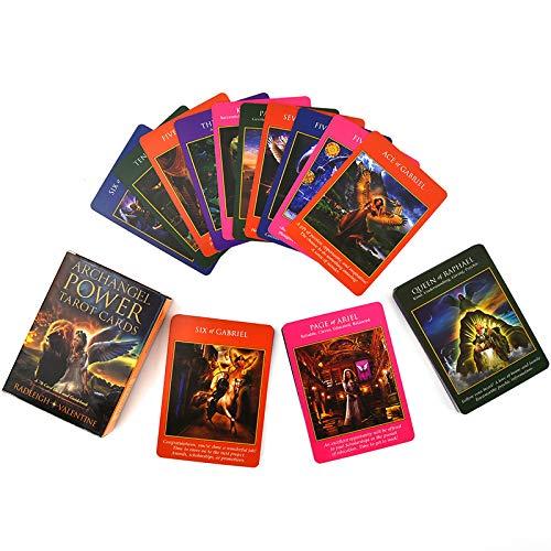 HALASHAO 78 Pcs arcángel de energía Tablero Tarjeta Tarot Juegos Palying Tarjetas de Junta Partido de los Juguetes Family Friend Card Game