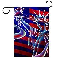 庭の装飾の屋外の印の庭の旗の飾りアメリカUSA テラスの鉢植えのデッキのため