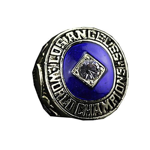 1965 MLB Los Angeles Dodgers Baseball World Series Championship Ring, Championship Ring Reedición Versión-Fan Collection Series,with Box,11#