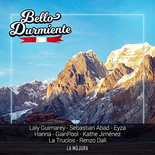 La Mújura, Laly Guimarey, Sebastian Abad, EYZA, Hanna, GianPool, Kathe Jiménez, La Trucíos & Renzo Dalí