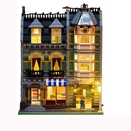 RTMX&kk Juego de Luces LED de para (Tienda de comestibles ecológica), Compatible con Lego 10185 Modelo de Bloques de Construcción (NO Incluido en el Modelo)