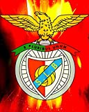 Nalana Poster Benfica Football UH-059 Bar Living Room