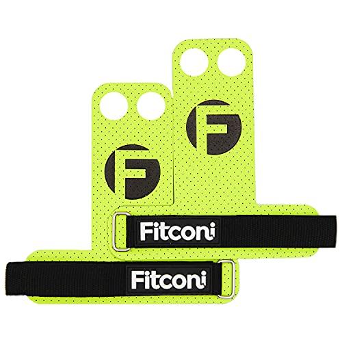 Fitconi - Calleras para Cross fit Hombre y Mujer de 2 Agujeros...