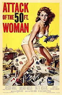 Pop Culture Graphics Attack of The 50 Foot Woman (1958) - 11 x 17 - Style A