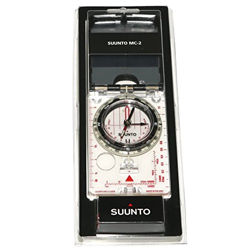 Suunto – High Grade Steel MC-2 NH USGS Compass with Mirrored Sighting, Adjustable Declination, and a Clinometer
