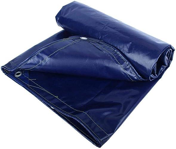 AI LI WEI Toile de Prougeection Solaire imperméable de bache de Prougeection Contre Le Froid, Polyester, Bleu, 550G   M2, 18 Tailles au Choix Bache (Couleur   Bleu, Taille   2X1.5M)