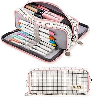 Trousse à Crayons Grande Capacité,Trousse à Crayons avec 3 Compartiments,Trousse à Crayons avec 3 Compartiments,Grande cap...