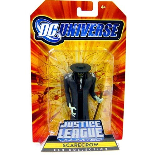 DC Universe Justice League Unlimited Exclusive Action Figure Scarecrow