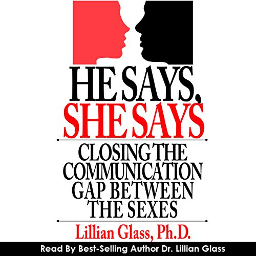 He Says She Says audiobook cover art