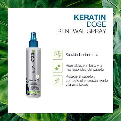 Biolage Advanced, Spray KeratinDose con Pro-Keratina que Protege, Suaviza y...
