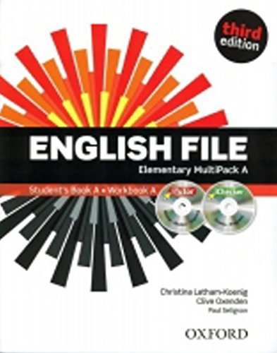 English File third edition: English File 3rd Edition Elementary. MultiPack a with iTutor and iChecker: The best way to get your students talking