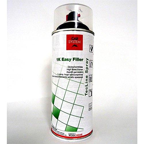 CAR SYSTEM 1K Easy Filler Dickschicht Füller Grundierung schwarz 400 ml 151.523