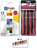Staedtler FIMO., 12er + Werkzeuge Set