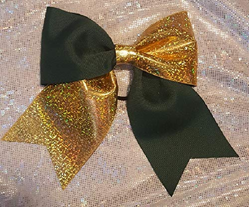Forest Green and Gold Hair Today's only Ranking TOP17 Bow Holographic