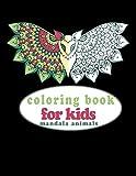 coloring Books For kids mandala animals: Fun Animal Designs