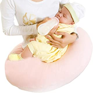 Baby pillow MM Pink Breastfeeding Pillow Safety Material Easy to Clean Scientific Design Anti-spit Milk Baby Sleep Pillow