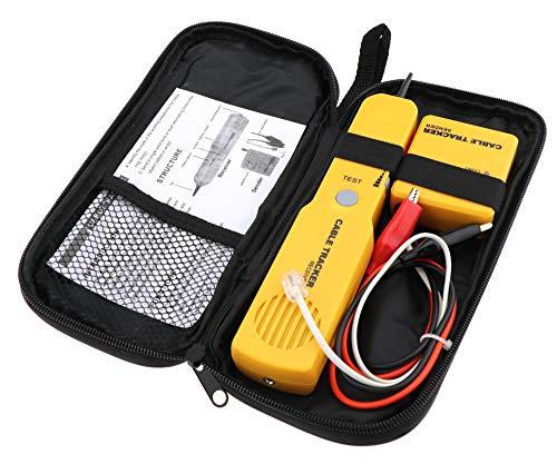 Comprobador de Cables para RJ11 Network Line Finder Cable Tracker Tester Toner...