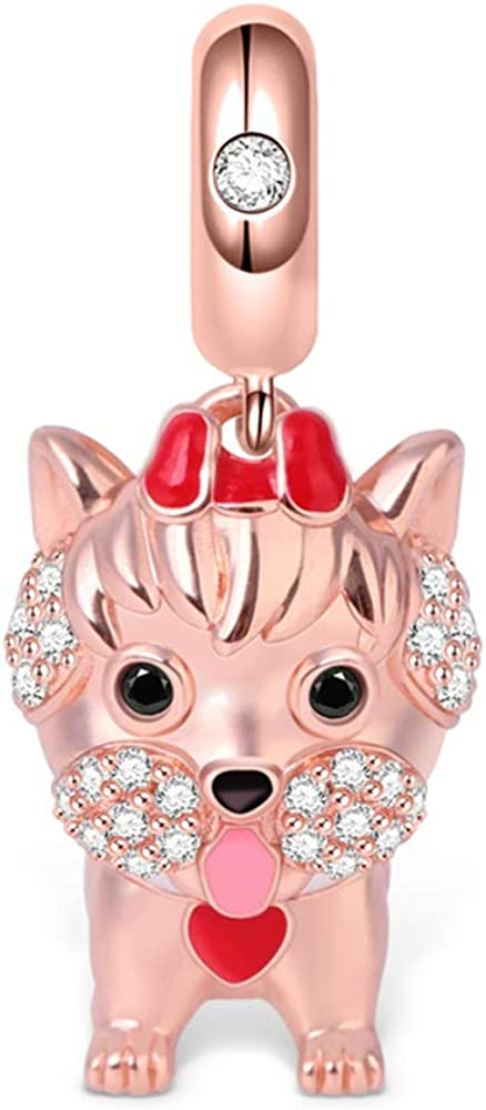 GNOCE Yorkshire Al sold out. Popular products Terrier Dog Pendant Charm Silver
