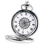 FFHJHJ Reloj de Bolsillo de Cadena con Colgante Antiguo de C