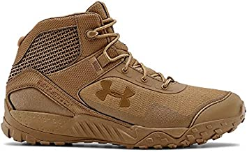 Under Armour Men's Valsetz RTS 1.5 5-inch Military and Tactical Boot, Coyote Brown (200)/Coyote Brown, 12 M US