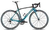Torpado bici corsa celeste 10v carbonio taglia 49 nero azzurro (Corsa Strada) /...
