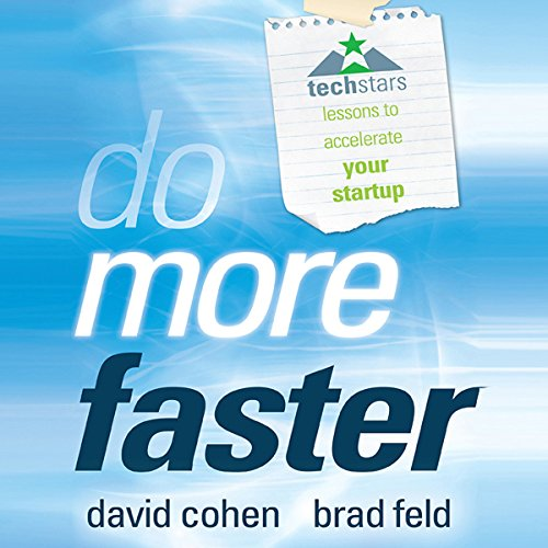 Do More Faster audiobook cover art