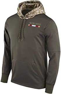 SAN Francisco 49ers 2017 NFL Salute to Service Men's STS Therma Hoody