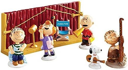 Department 56 Peanuts Weißnachten Immer bereit für Weißnachten Ornamente, Set von 8