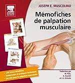 Mémofiches de palpation musculaire de Joseph Muscolino