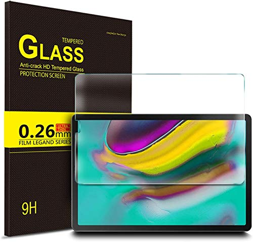 IVSO Screen Protector for Samsung Galaxy Tab S5e T720/T725 10.5, Clear Tempered-Glass Flim Screen Protector for Samsung Galaxy Tab S5e 10.5 T720/T725 2019, 2 Pack