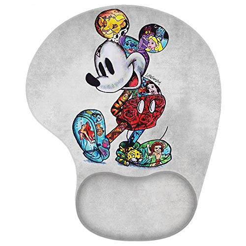 Capriceblue Mouse Pad, Personalized Printed Mouse Mat, Non-Slip Rubber Mousepad Gaming Mouse Pad/Mat for Laptop Computer (Wrist pad-Mickey)