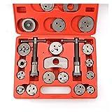 Sgxiyue Juego de Herramientas de Freno 21 unids/Set Auto Car Freno Disco de Freno Caliper Back Herramientas Herramientas Precision Freno Pistón Bomba Pad Herramientas de reparación (Color : Red)
