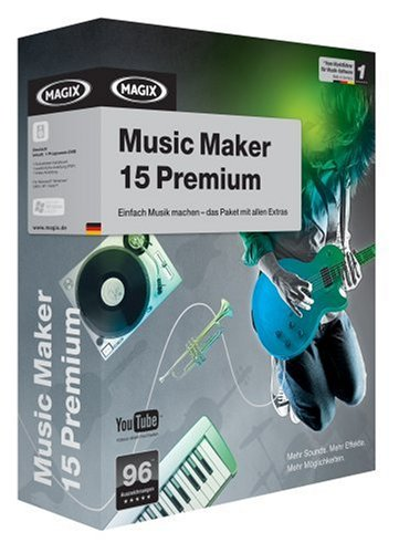 MAGIX Music Maker 15 Premium