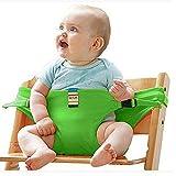 Alta silla comedor comer alimentación viajes asiento de coche bebé arnés de seguridad cinturón cierre