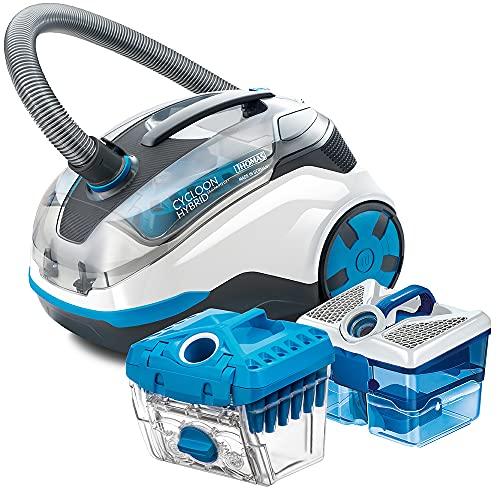 Thomas CYCLOON HYBRID LED PARQUET 786551, Hygiene-und Zyklonstaubsauger, Weiss/blau, 1700 W