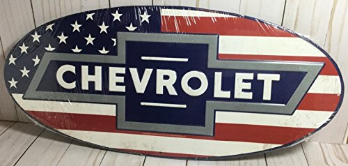 Signs 4 Fun SRACB Chevy Bow Tie Round Sign