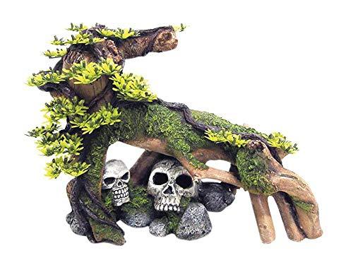 Nobby 28617 Décoration pour Aquarium en Bois avec Branches de Plantes 34 x 22 cm 0 x 25 cm 5 cm