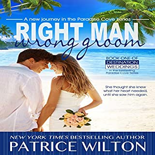 Right Man/Wrong Groom: Paradise Cove Series     Destination Wedding, Book 1              By:                                                                                                                                 Patrice Wilton                               Narrated by:                                                                                                                                 Melissa Schwairy                      Length: 6 hrs and 10 mins     1 rating     Overall 5.0