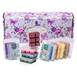 Scented Wax Melts, 12x2.5 oz, Natural Scents Series Wax Cubes