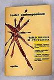Teatro francés de vanguardia:: Historia de Vasco ; Paolo