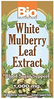 White Mulberry Leaf Extract, 60 Vcaps by Bio Nutrition Inc (Pack of 3)
