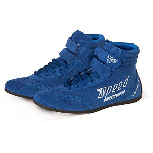 Speed Karting Boots - Botas de karting - Kart - Autosport, color Azul, talla 37 EU