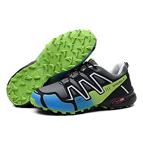 Zapatillas Senderismo Hombre Mujer Zapatos Trekking Antideslizantes Bajos Botas de Montaña AL Aire Libre Transpirable Sneakers Zapatillas Trail