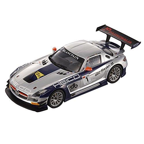 Carrera Digital 124 - 20023791 - Voiture De Circuit - Mercedes-Benz SLS Amg Gt3 Hélico Motorsports