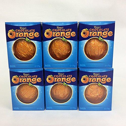 【テリーズ】【イギリス土産】オレンジチョコレートミルク157g【6個セット】