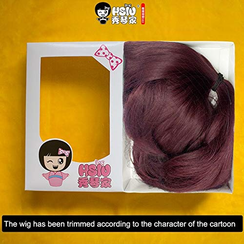 HSIU NEW LOL KDA Cosplay Wig Akali Evelynn Ahri Kaisa Costume Women Halloween party Play Adult Wigs Anime Game Hair KDA Akali