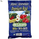 BricoLoco Abono Azul Universal. Plantas Interior y Exterior, huerto, césped,...