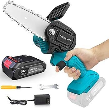 Merece 4 Inch Cordless Electric Mini Chainsaw