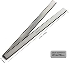 OSCARBIDE Planer Blades for Delta 22-540 22-547 TP300 12-1/2 inch HSS Replacement Planer Knives 2 Cutting edges 317 x 19 x 1.7mm(12.48